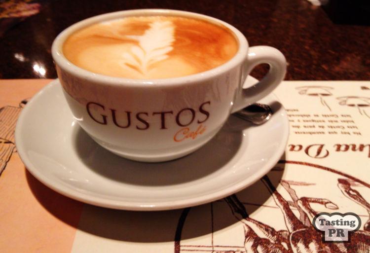 Gustos Coffee @ Casa Cortes Chocobar Old San Juan