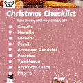 Tasting Puerto Rico Christmas Checklist