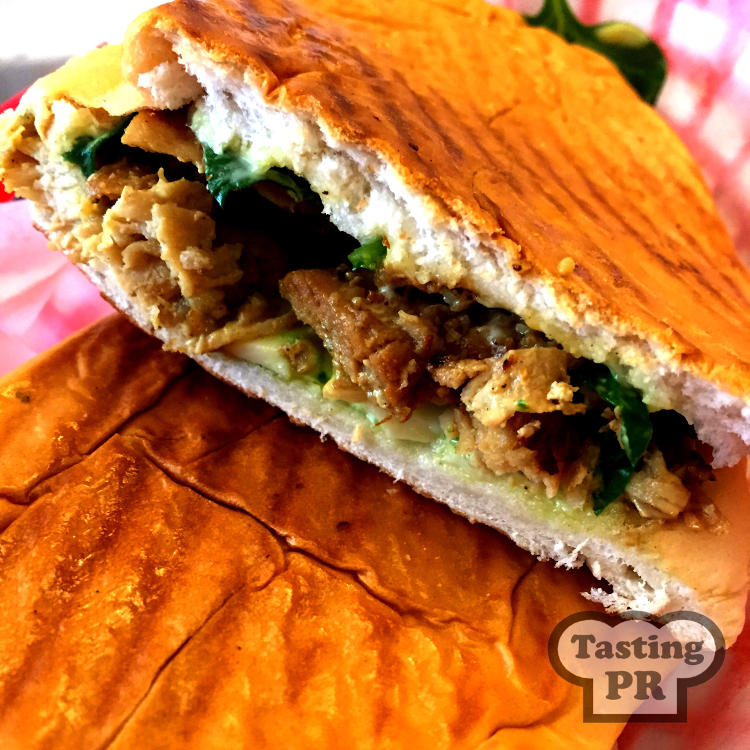 Pio Pio Sandwich at Latte que latte San Juan