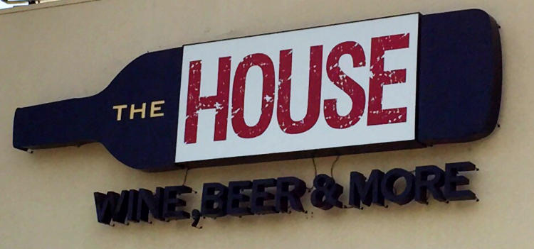 the house, wine, beer and more in San Juan