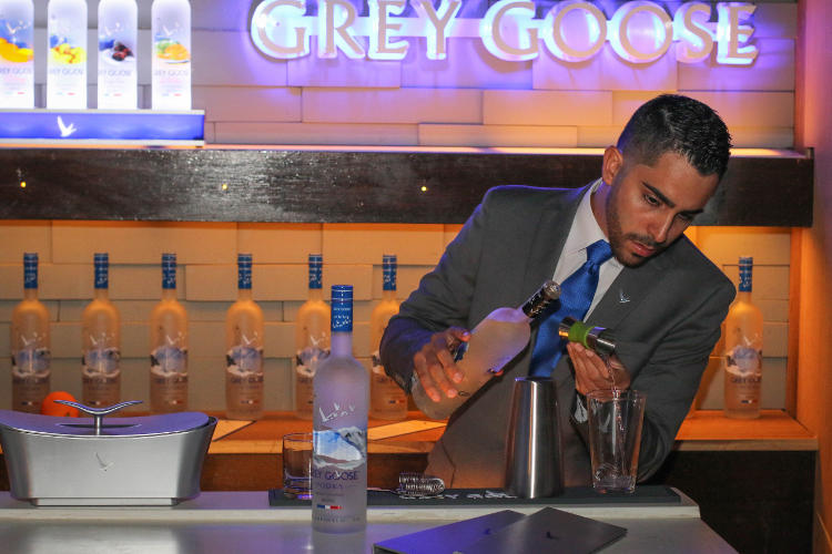 Grey Goose Bar @ Club Brava