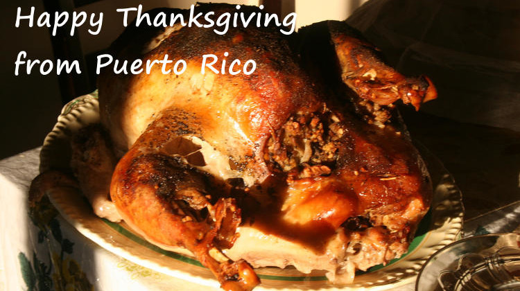 Thanksgiving Day in Puerto Rico