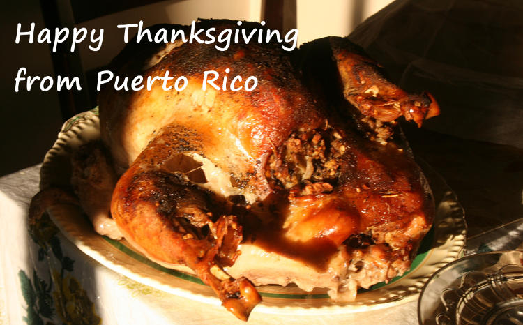 Thanksgiving day in puerto rico tasting puerto rico for What do you eat on thanksgiving list