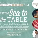 From Sea to the Table @ Avocado Cocina Local