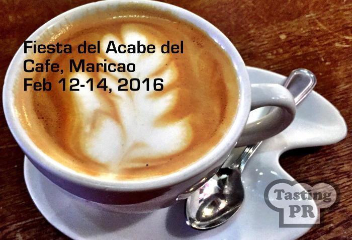 Fiesta del Acabe del Cafe, Maricao (Coffee Festival)