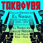 Takeover Event: Gallo Negro & El Naqui