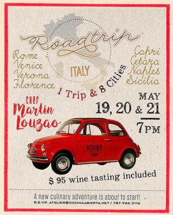 Italian Roadtrip with Chef Martin Louzao