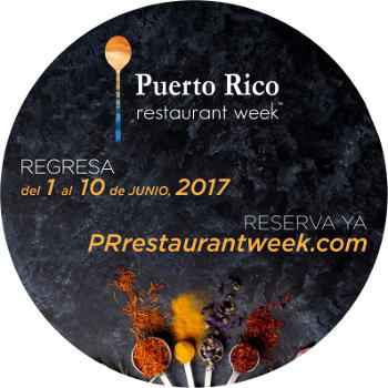 Puerto Rico Restaurant Week 2017