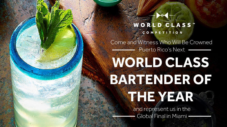 2016 Puerto Rico World Class Bartender of the Year