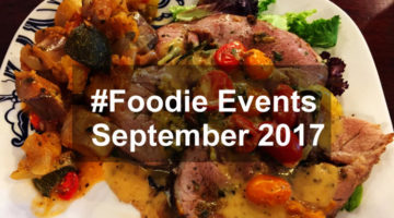 #Foodie Events in September 2016