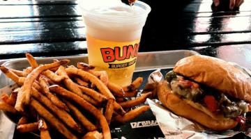 Limited Time We The Future Burger @ BUNS Burger Shop