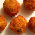 Twice Fried Stuffed Mofongo Balls