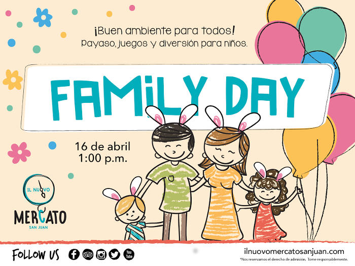 Easter Sunday Is Family Day Il Mercato Nuovo Tasting Puerto Rico