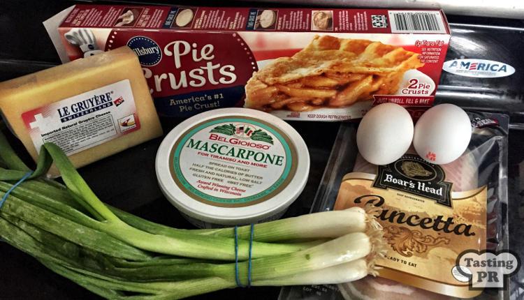 Pancetta & Gruyere Quiche Recipe