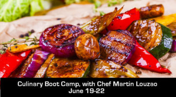 Culinary Boot Camp aka Cook like a Chef in 4 days