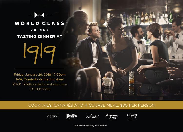 World Class Pairing @ 1919 Restaurant